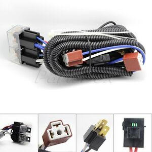s l300 ceramic h4 headlight relay wiring harness 2 headlamp light bulb headlamp wiring harness at bayanpartner.co