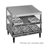 Hatco Grpws-3624d Countertop Pass-thru Pizza Warmer With Double Slanted Shelves