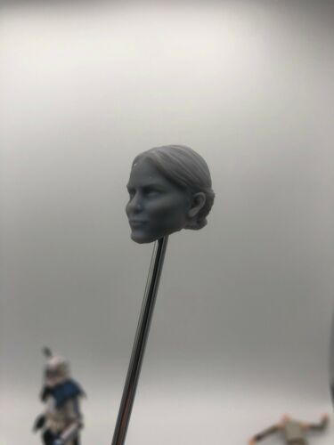 Star wars Zorii Bliss custom head sculpt hasbro black series