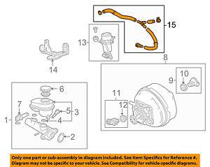 cadillac gm oem 10 14 cts vacuum hose 20919372 ebay Honda Vacuum Diagram image is loading cadillac gm oem 10 14 cts vacuum hose