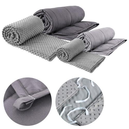 Gewichtsdecke Therapiedecke Schwere-Decke Anti-Stress Weighted Blanket fördern