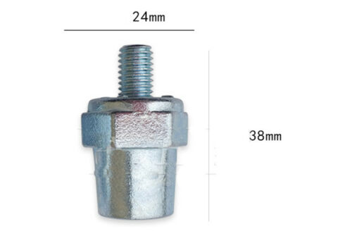Paquete De 2 puestos de Batería Terminal de lado positivo negativo 19mm 17mm se adapta para pernos M8