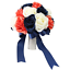 Coral-Navy-and-Ivory-Keepsake-Artificial-Flowers-Build-Your-Wedding-Package thumbnail 2