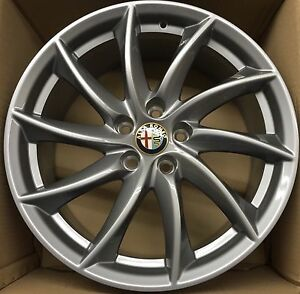 alfa romeo original felgen giulia giulietta wheels rims velgen jantes cerchi 18 ebay. Black Bedroom Furniture Sets. Home Design Ideas