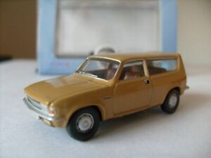 Model-Car-Austin-Allegro-Estate-Harvest-Gold-1-76-New