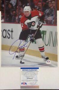 Jeremy-Roenick-PSA-Authenticated-Hand-Signed-8x10-Photo-Philadelphia-Flyers-HOF