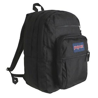 JANSPORT BIG Student Backpack Bags Sports Blue Black Casual GYM Bag JS00TND7008