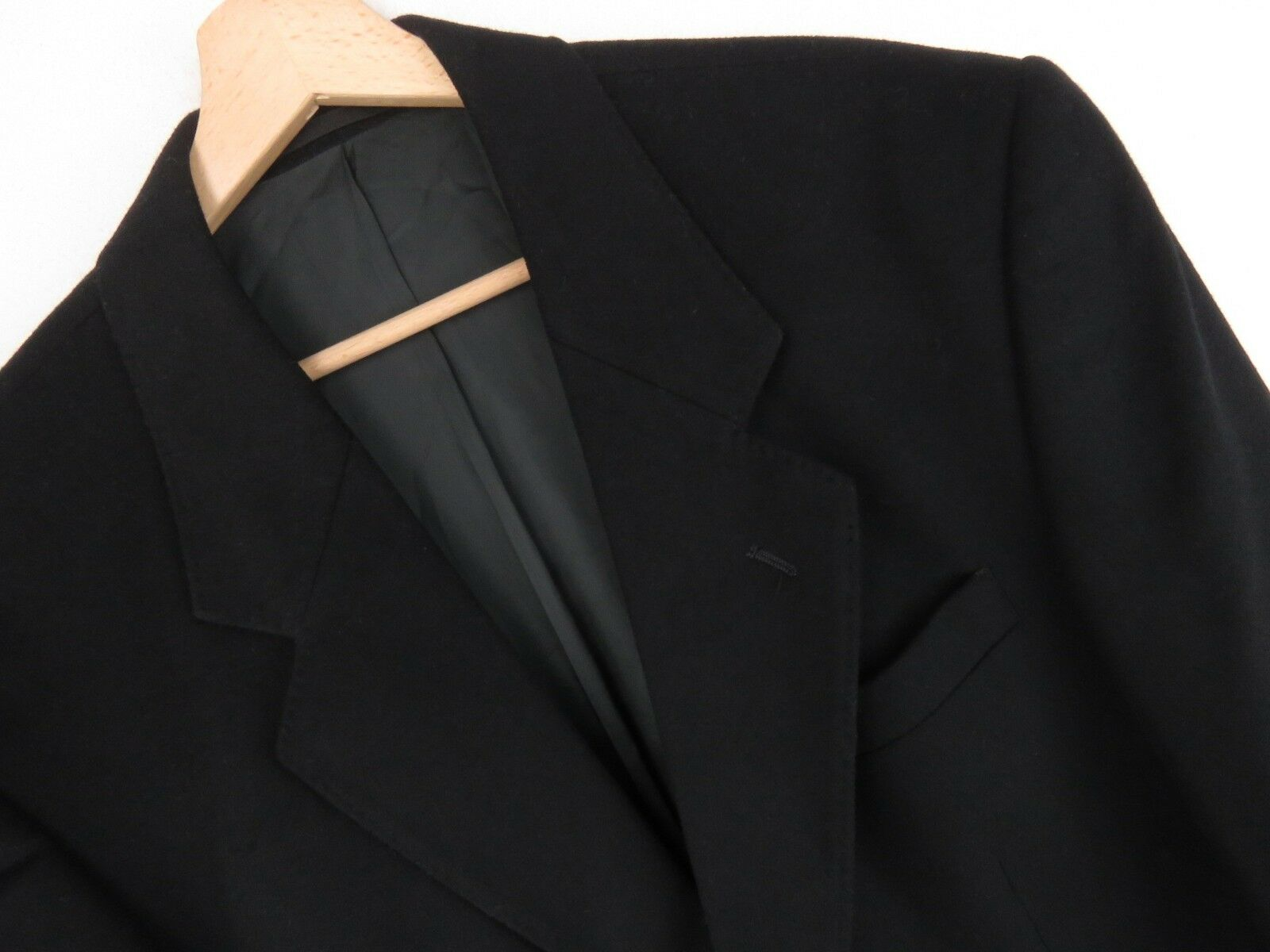 Lu945 Debenhams Veste Blazer black Laine-Cachemire Original Premium size 40r