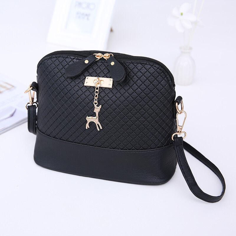 e783513ea0dd Fashion Women Messenger Bags Mini Shoulder Bag With Deer Toy Shell Shape