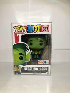 Funko-POP-TV-Teen-Titans-Figure-BEAST-BOY-as-Martian-Manhunter-337-Excl