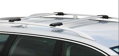 PRORACK WHISPBAR ROOF RACK LOCKABLE FIT  CAR WITH FACTORY RAILS