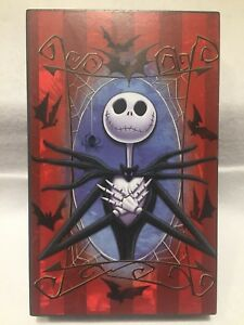 Details About Jack Wooden Table Top Decor Hanging 8 X5 Nightmare Before Christmas New