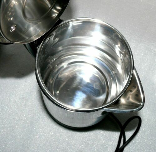 Irvings IKTE02SS XXL Tee Wasserkocher Kabellos 2,5Lit 360° 1800W Edelstahl Black