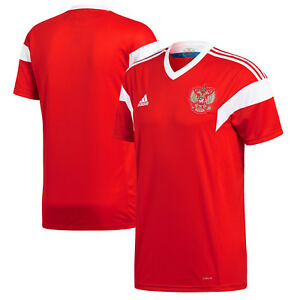 11ea4a5d9b2 adidas Russia FIFA WC World Cup 2018 Home Soccer Jersey Red Kids ...