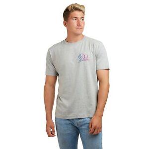 Ocean-Pacific-Fundido-con-el-logotipo-de-nucleo-con-licencia-oficial-para-Hombre-Camiseta-Gris-S-XXL