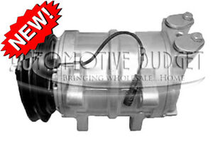 A/C Compressor w/Clutch for Isuzu NPR NQR 2001-2005 - NEW