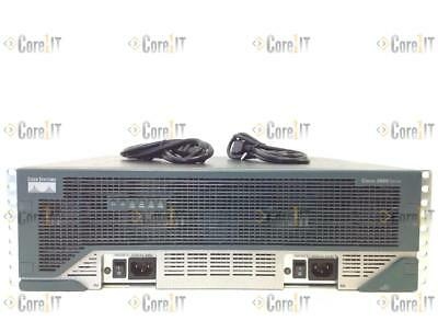 CISCO 3845 Intergrated Router IOS 15.1 1GB Dram//256MB Flash w// DUAL Power Supply