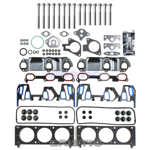 00-03 GM 3.4L CHEVROLET OLDSMOBILE PONTIAC Cylinder HEAD GASKET SET+HEAD BOLTS
