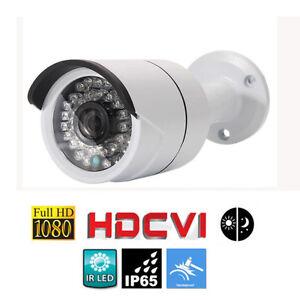 1080P HD-CVI CCTV CMOS IR-CUT Camera Waterproof Security Night Vision DVR System