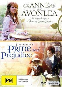 BBC-Double-Pack-Pride-and-Prejudice-Anne-of-Avonlea-DVD-Brand-New