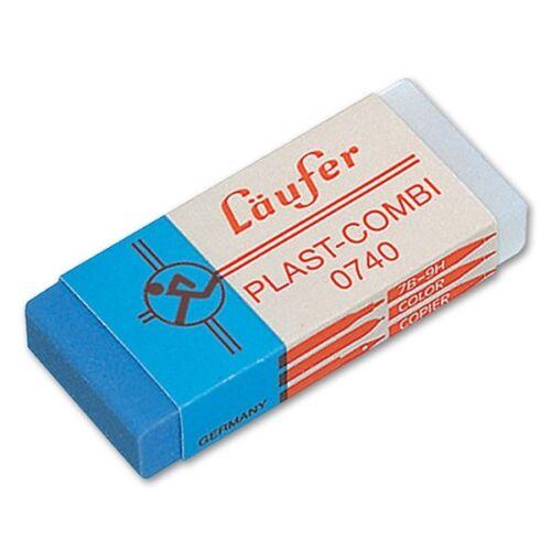 Radierer Läufer Plast-Combi 0740 zweiseitiger Kunststoffradierer