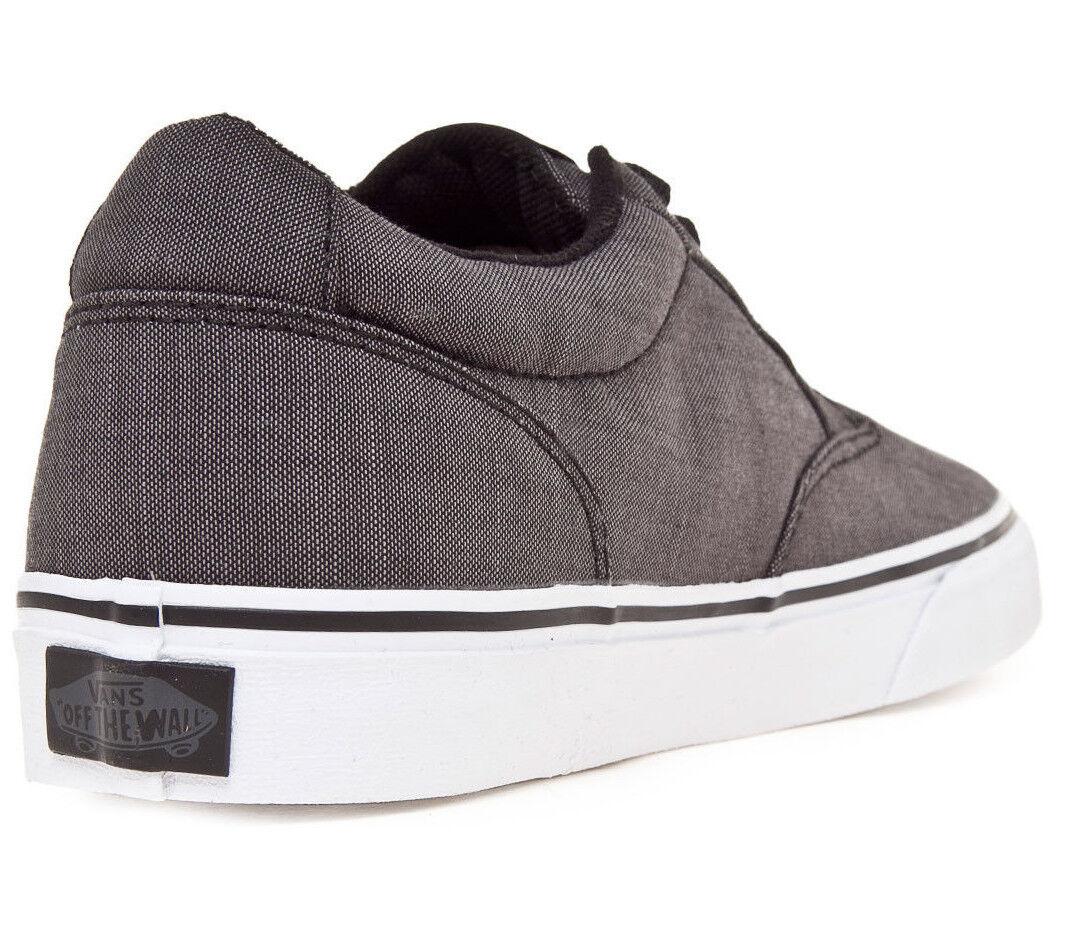 Vans männer winston textil - schwarz schuhe / weiß - skate schuhe schwarz - größen 7.5/8/10 nwb 100a97