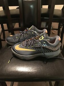 e9630500a9e7 New Nike Mens KD VII 7 Elite Shoes 724349-478 size 10 Silver Orange ...
