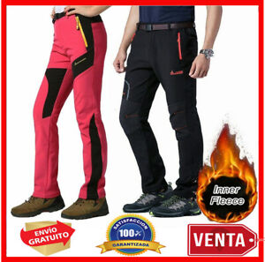 Pantalones Para Hombres Mujer De Invierno Ropa Impermeable Para Nieve Frio Ebay
