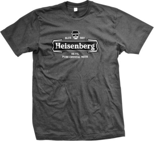SALE Heisenberg Blue Sky 99.1/% Pure Crystal Meth Funny T-shirt