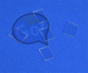 5pcs Double Sided Polishing JGS1 Fused Silica Quartz Glass Sheet 30*30*1mm
