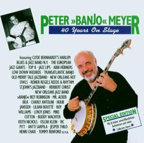 Peter 'Banjo' Meyer 40 years on stage (1998)  [2 CD]