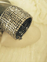 Bangle Cuff Bracelet Silver Metal Wear With Everything Beautiful