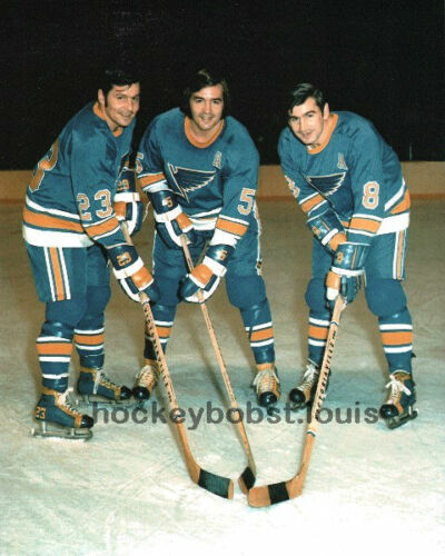 Sports Mem, Cards & Fan Shop Louis BLUES Custom LAB 11X14 Simply AWESOME !!! The FAMOUS PLAGER BROTHERS St
