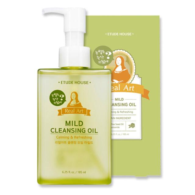 [ETUDE HOUSE] NEW Real Art Cleansing Oil #Mild 185ml  / for senistive skin
