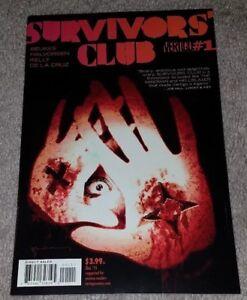 2015, DC Vertigo - NM NEW MOVIE! Survivors Club #1