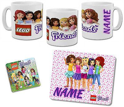 Devoto Lego Friends Tazza Personalizzata Con Coaster & Placemat Opzioni-mostra Il Titolo Originale Famoso Per Materiali Selezionati, Disegni Innovativi, Colori Deliziosi E Lavorazione Squisita