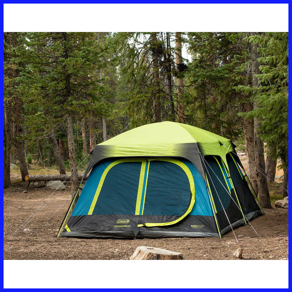 [NO Tax] Coleman 10-person Dark  Room Fast Pitch Cabin Tent, 14 x 10 ft  great selection & quick delivery