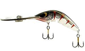 CAST OR TROLL DEEP DIVER FISHING LURE PREDATEK BOOMERANG BROWN TROUT 65 UD-12g