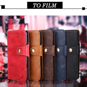 more photos 45e4c 2da5d Details about Luxury Retro Rivet Flip Cover Wallet Pu Leather Case For OPPO  A3 F7 F5 K1 A7X F9