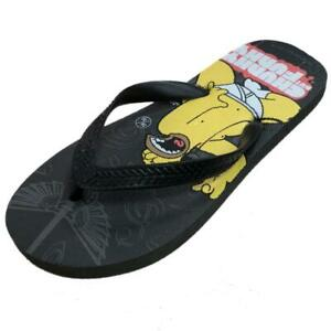 18fb9180d6a8f Tongs Garçon Homer Simpson Chaussons Adulte Mer Piscine PS 06652