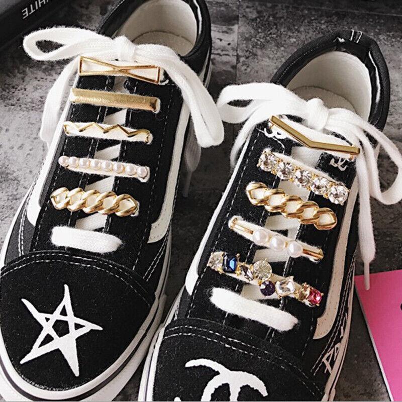 1pcs Decoration Laces Glitter Clip Shoe Accessories Women Shoes DecoratiUKPTUK
