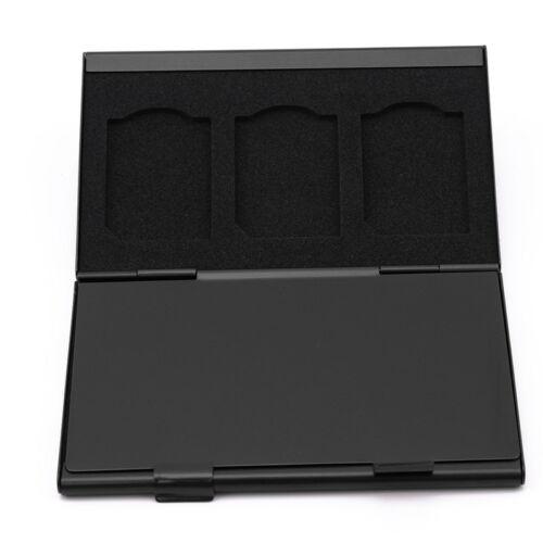 Anti Shock Titular Funda Tarjeta de memoria SD de almacenamiento de aleación de aluminio Shan