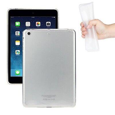 New Clear Soft TPU Skin Gel Silicone Back Case Cover For iPad mini 1 2 3 Retina