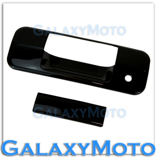 KH Handle Cover 07-13 TOYOTA TUNDRA CREWMAX DOUBLE CAB Gloss Black Tailgate w