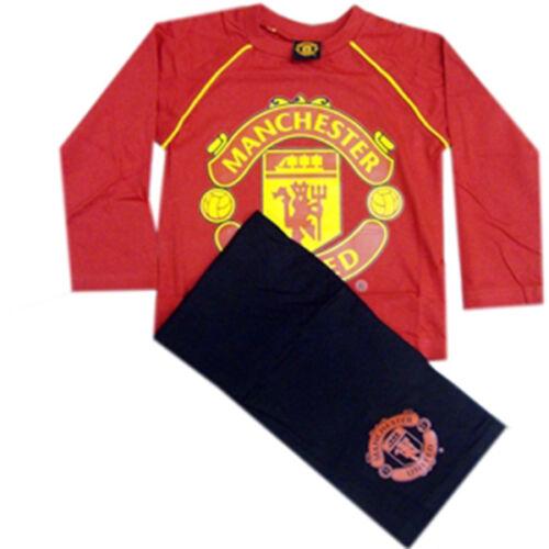Manchester United Chelsea Boys Official Football Pyjamas Arsenal Liverpool