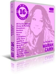 16-Midi-Files-In-The-Style-Of-MARIAH-CAREY-Pendrive-USB-Listen-Demos-Midis