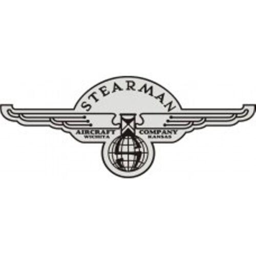 Stearman Aircraft Logo,Vinyl Graphics,Decal//Sticker