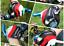 Guanti-Ciclismo-Mezze-dita-MTB-Bicicletta-Italia-Traspiranti-Gel-Corsa miniatura 1