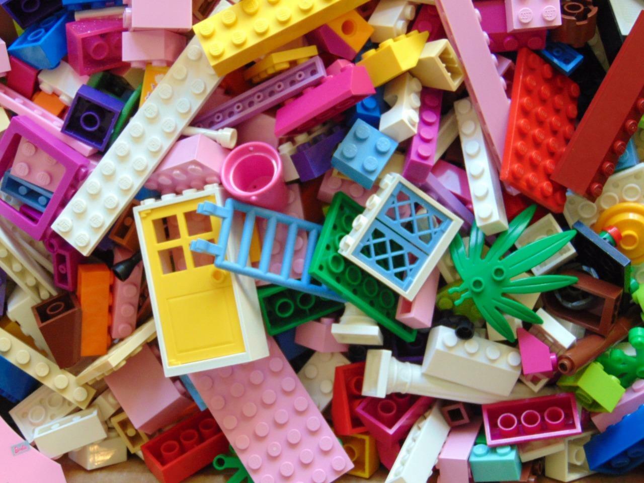 1 kg 1000 G Genuine LEGO FRIENDS Mattoni, Parti e  Pezzi LOTTO BUNDLE  presa di fabbrica
