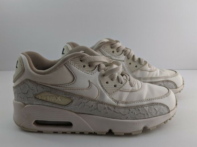 Nike Air Max 90 LTR SE GG Mens Size 6 Women 7.5 [897987 100] White